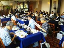 関西、東京、東海敦賀人会 歓迎昼食会
