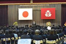 敦賀高校同窓会入会式